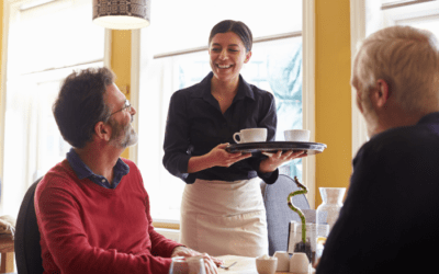 Service With a Smile: Be a Top Waiter/Waitress